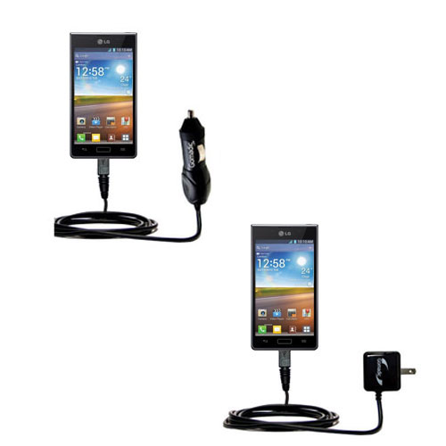 Car & Home Charger Kit compatible with the LG Optimus L5