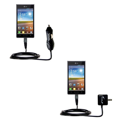 Car & Home Charger Kit compatible with the LG Optimus L7