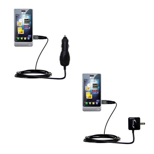 Car & Home Charger Kit compatible with the LG Pop GD510