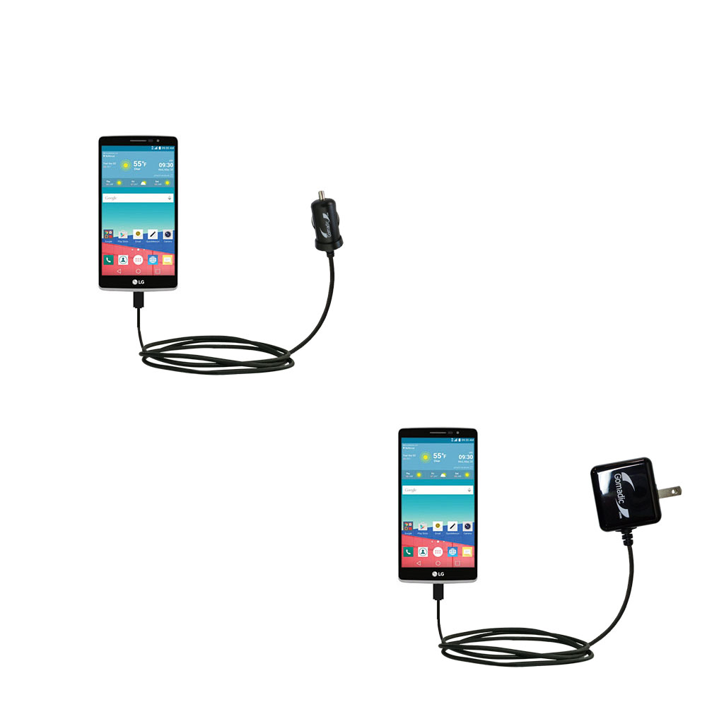 Car & Home Charger Kit compatible with the LG Stylo 3