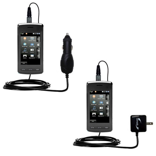 Car & Home Charger Kit compatible with the LG Vu Plus