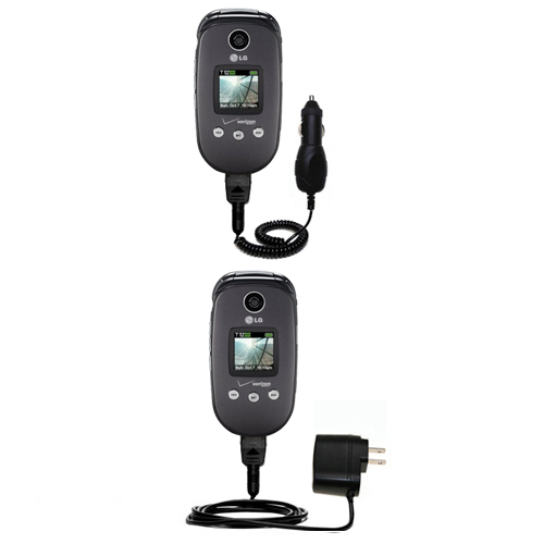 Car & Home Charger Kit compatible with the LG VX8350
