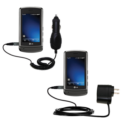 Car & Home Charger Kit compatible with the LG VX9700