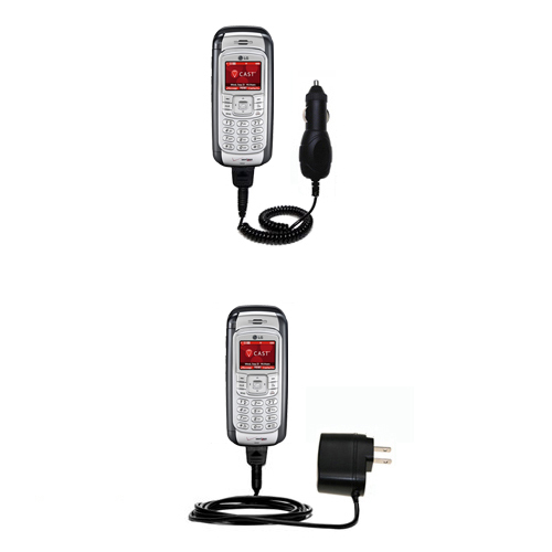 Car & Home Charger Kit compatible with the LG VX9900
