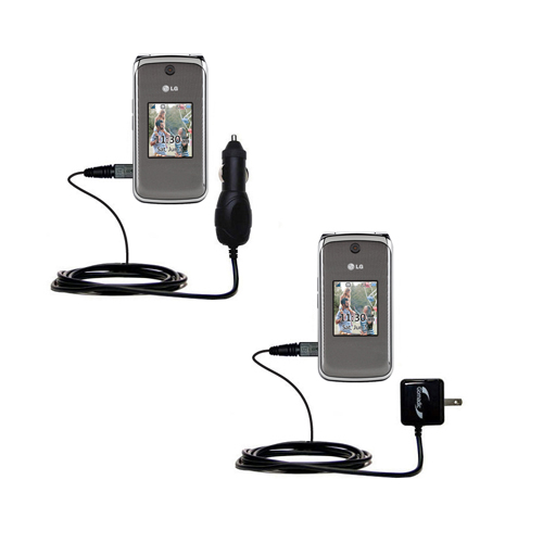 Car & Home Charger Kit compatible with the LG Wine II