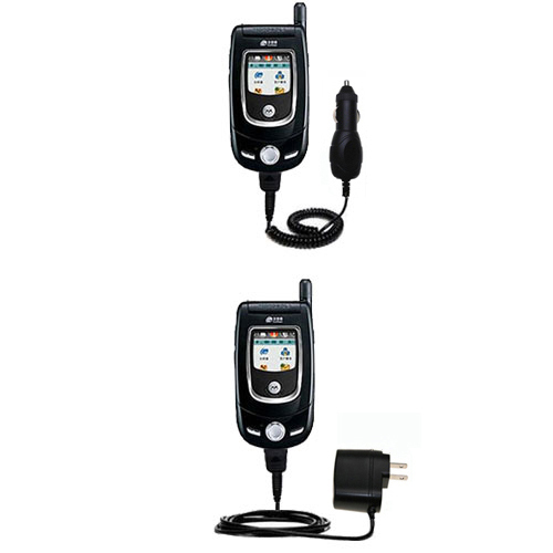 Car & Home Charger Kit compatible with the Motorola V557