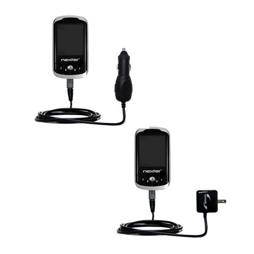 Car & Home Charger Kit compatible with the Nextar MA852