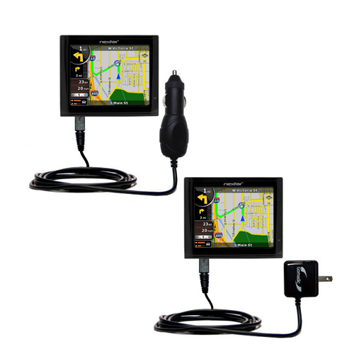 Car & Home Charger Kit compatible with the Nextar ME