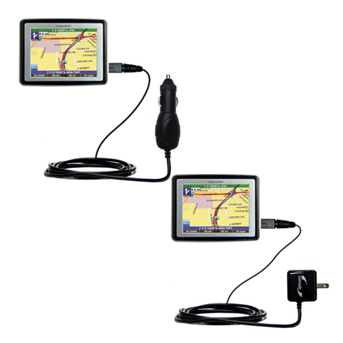 Car & Home Charger Kit compatible with the Nextar X3-T
