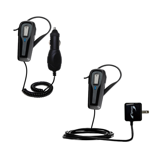 Car & Home Charger Kit compatible with the Plantronics 903