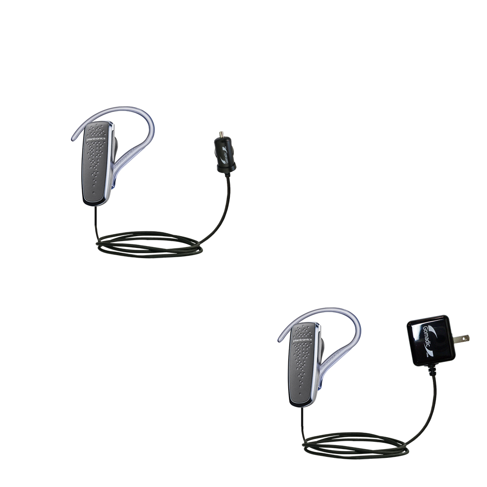 Car & Home Charger Kit compatible with the Plantronics M50