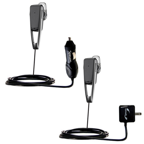 Car & Home Charger Kit compatible with the Plantronics Savor M1100