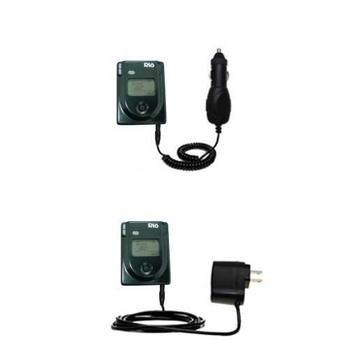 Car & Home Charger Kit compatible with the Rio Eigen