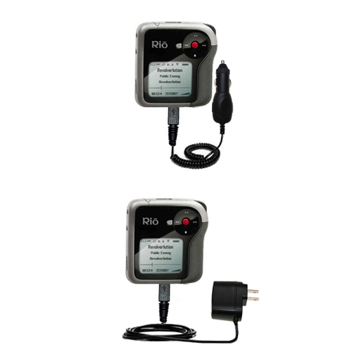 Car & Home Charger Kit compatible with the Rio Karma