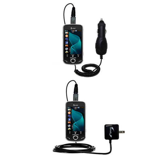 Car & Home Charger Kit compatible with the Samsung Mythic