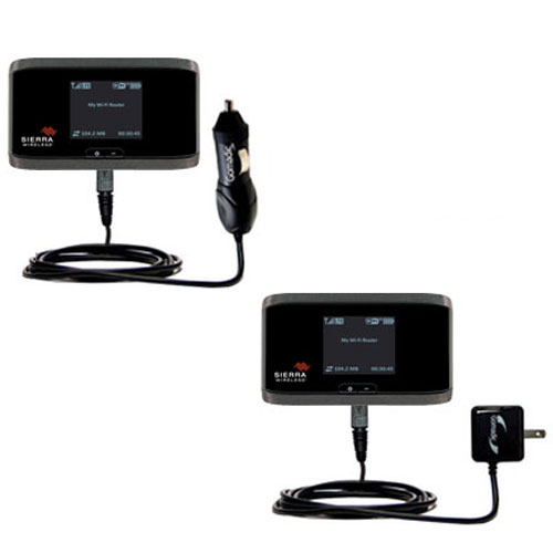Car & Home Charger Kit compatible with the Sierra Wireless Aircard 753S / 754S