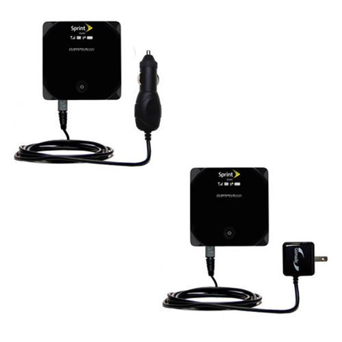 Car & Home Charger Kit compatible with the Sierra Wireless AirCard W801 Mobile Hotspot