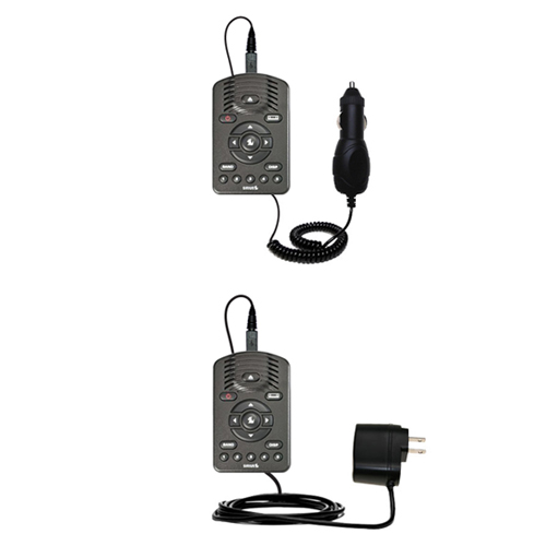 Car & Home Charger Kit compatible with the Sirius One SV1