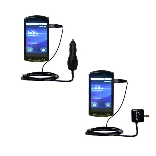 Car & Home Charger Kit compatible with the Sony Ericsson LT15i
