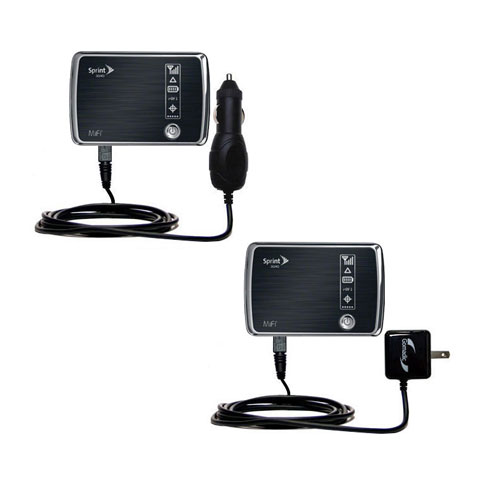 Car & Home Charger Kit compatible with the Sprint 3G/4G Mobile Hotspot