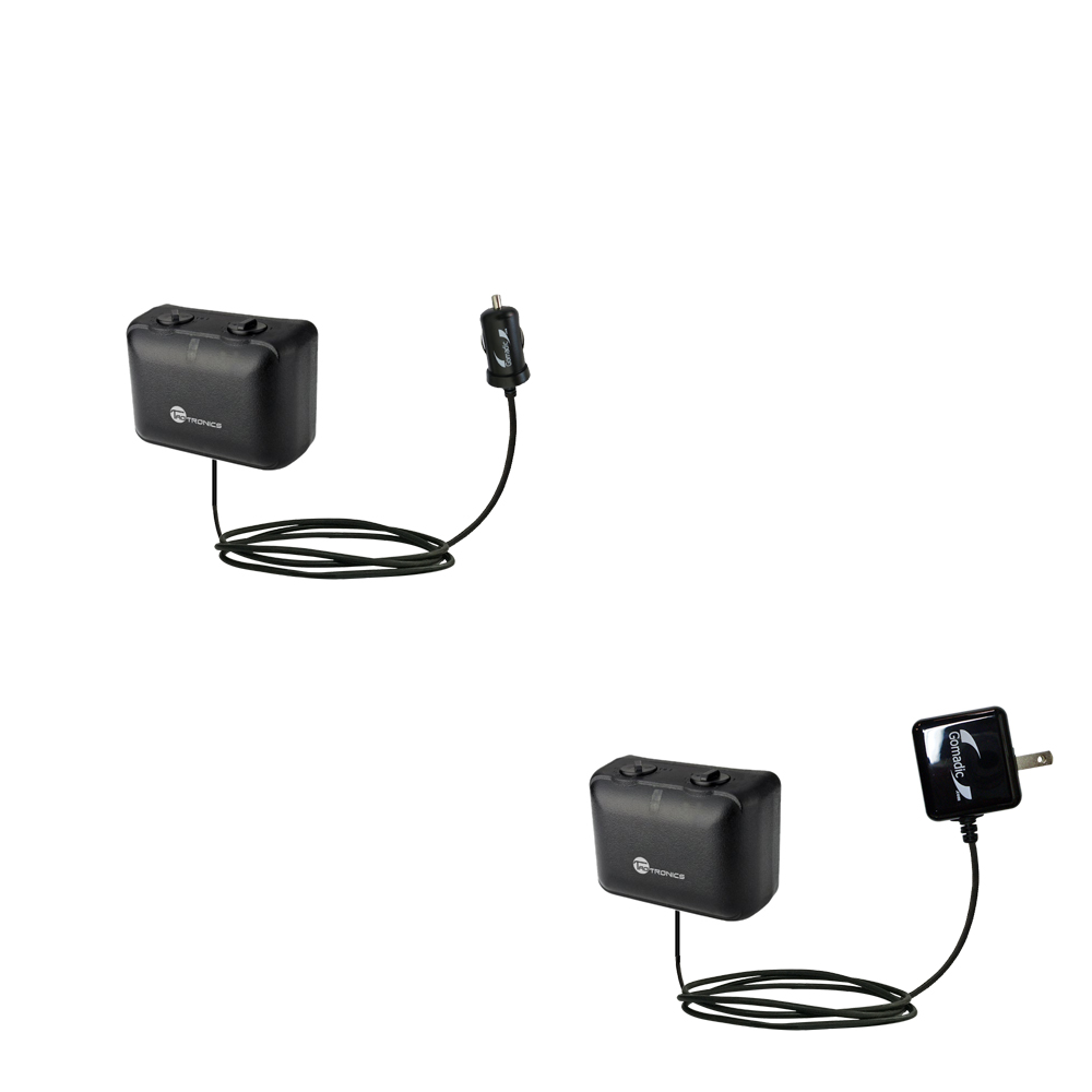 Car & Home Charger Kit compatible with the TaoTronics TT-PT06