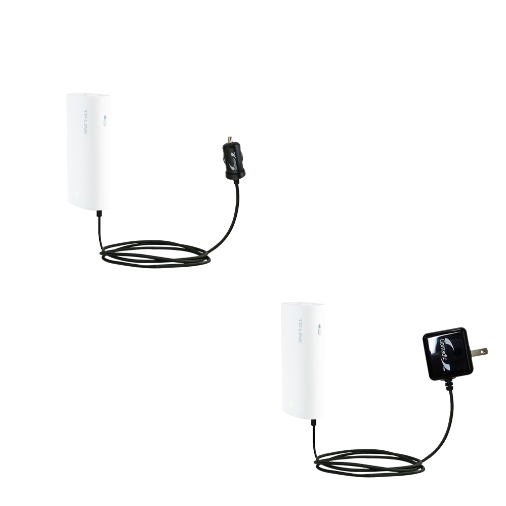 Car & Home Charger Kit compatible with the TP-Link MR10U