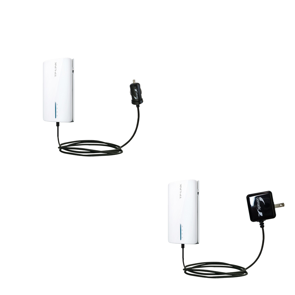 Car & Home Charger Kit compatible with the TP-Link TL-MR3040