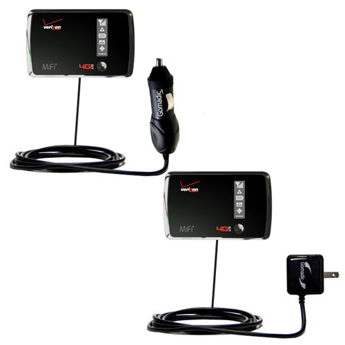 Car & Home Charger Kit compatible with the Verizon 4G LTE MIFI 4510L