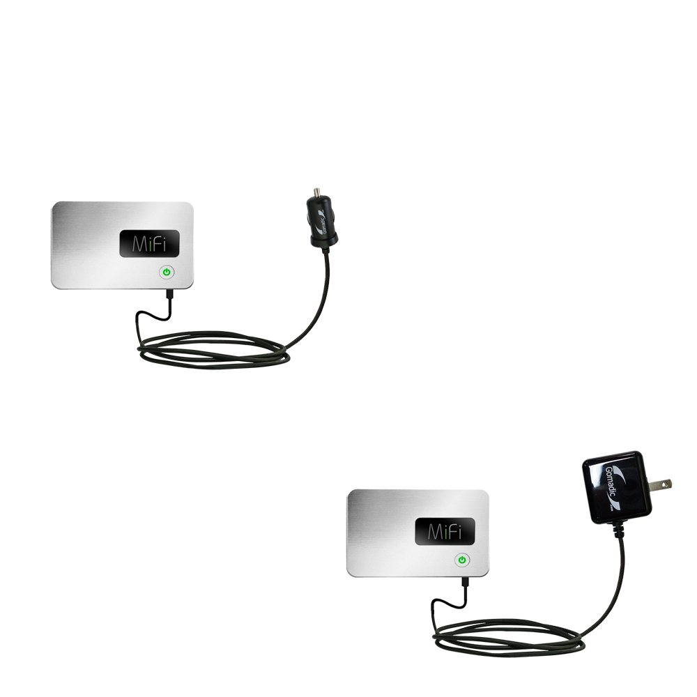 Car & Home Charger Kit compatible with the Walmart Internet on the Go