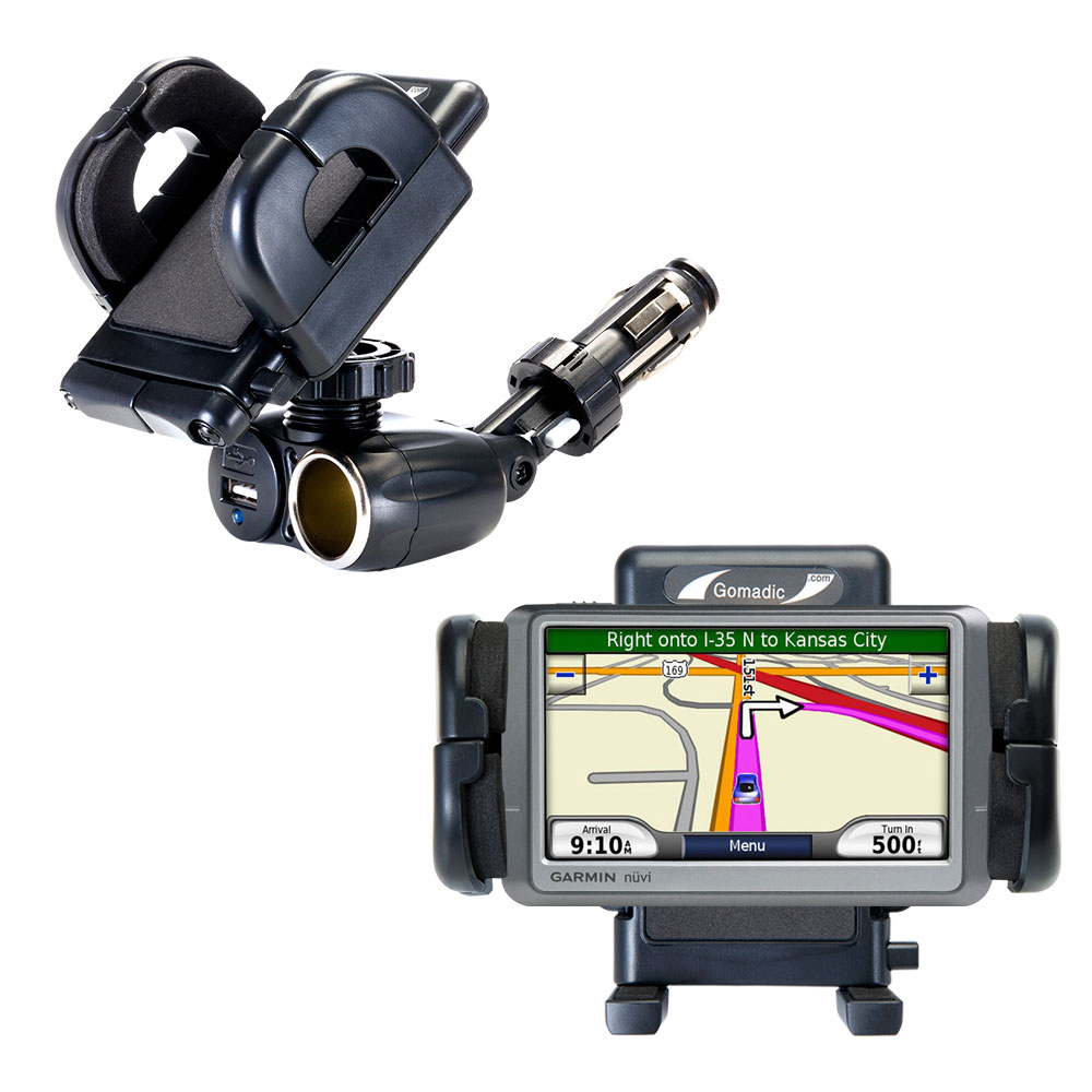 Cigarette Lighter Car Auto Holder Mount compatible with the Garmin Nuvi 250 250W 250WT