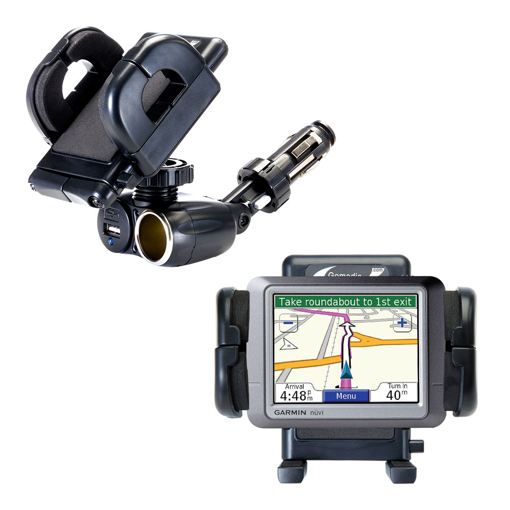 Cigarette Lighter Car Auto Holder Mount compatible with the Garmin nuvi 255T