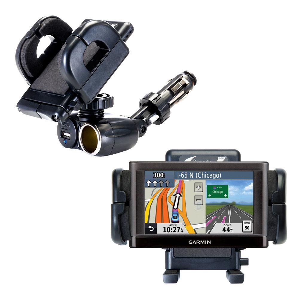 Cigarette Lighter Car Auto Holder Mount compatible with the Garmin nuvi 52 / nuvi 54
