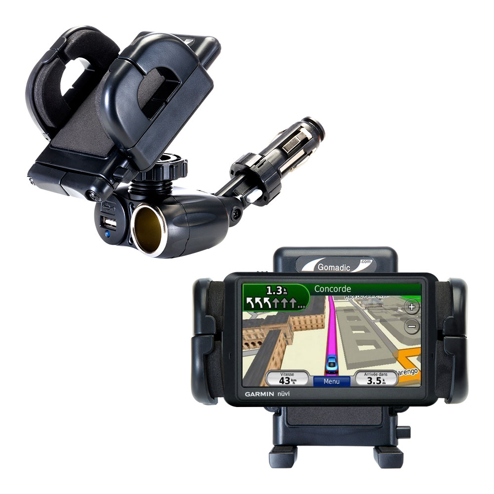 Cigarette Lighter Car Auto Holder Mount compatible with the Garmin Nuvi 785T