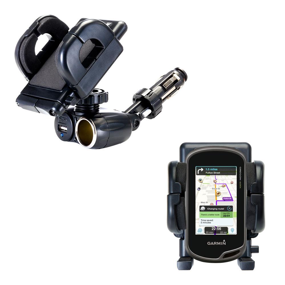 Adjustable Suction Mount Car Holder For Garmin Oregon 600t 650 650t
