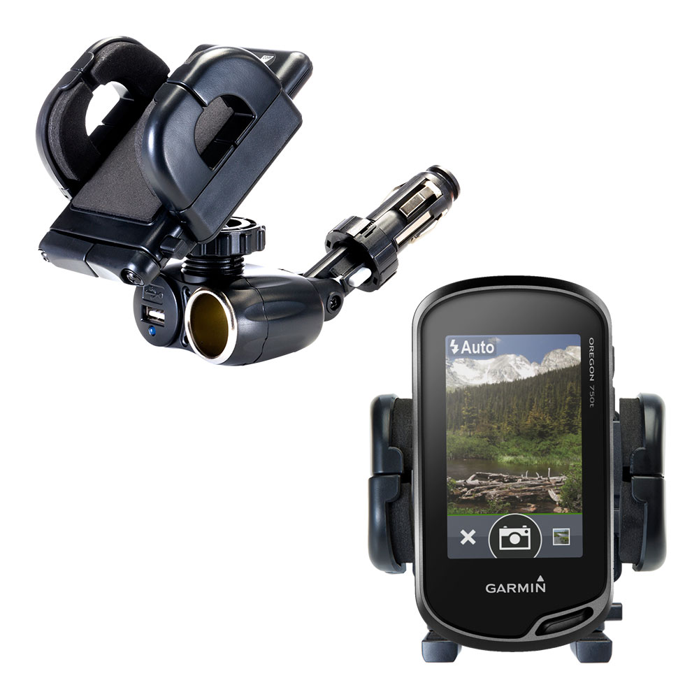 Cigarette Lighter Car Auto Holder Mount compatible with the Garmin Oregon 700