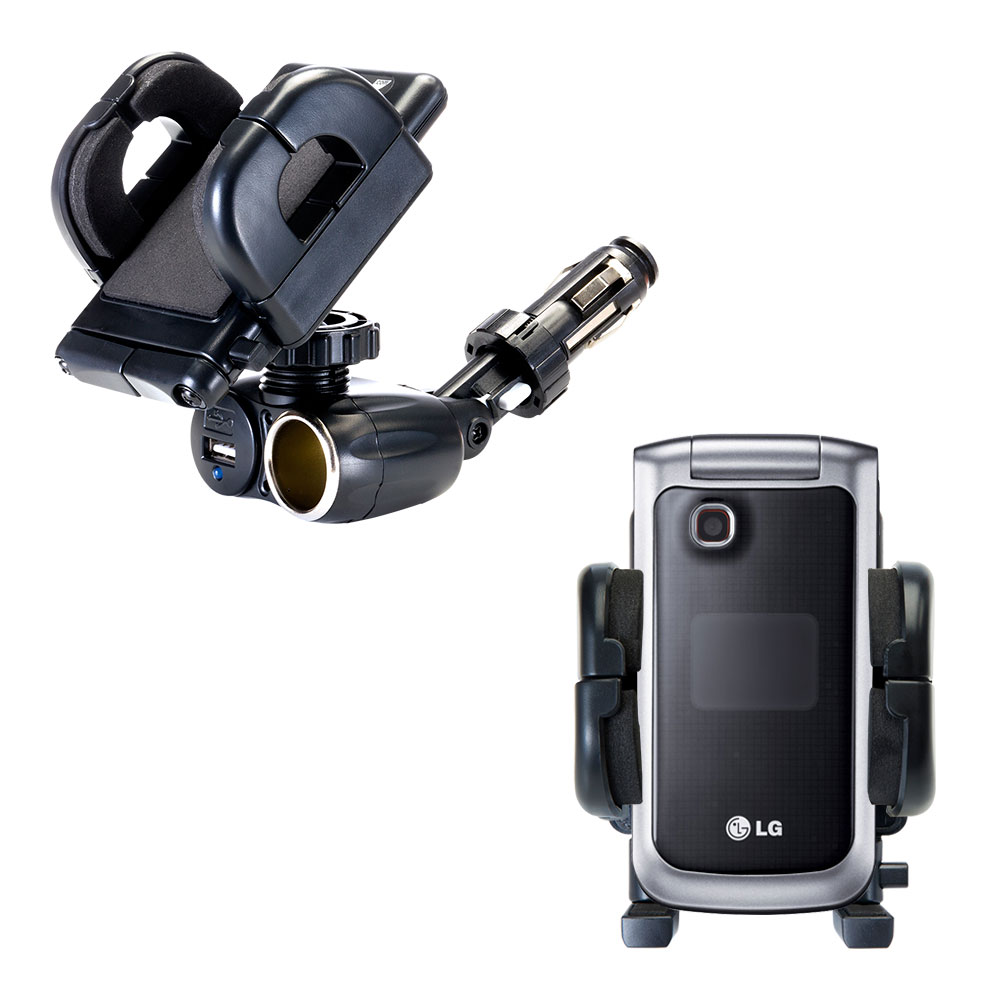 Cigarette Lighter Car Auto Holder Mount compatible with the LG GB220