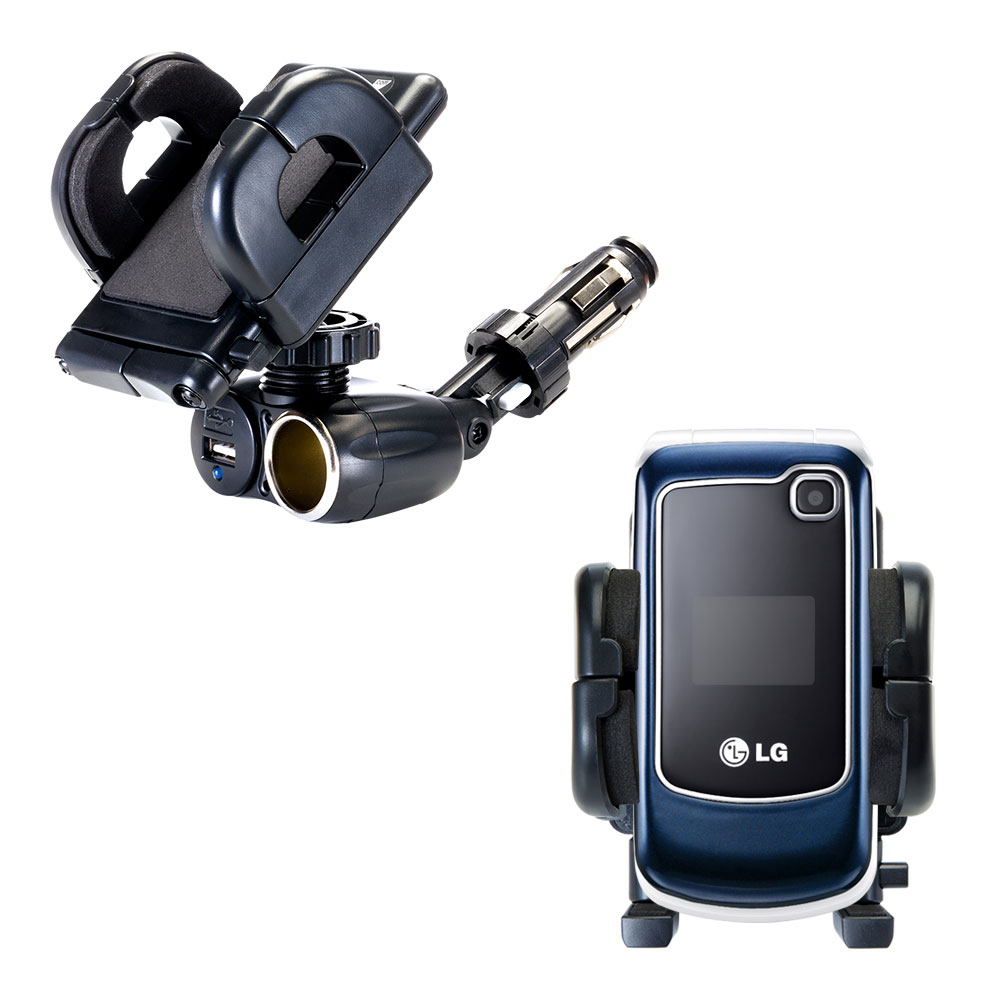Cigarette Lighter Car Auto Holder Mount compatible with the LG GB250
