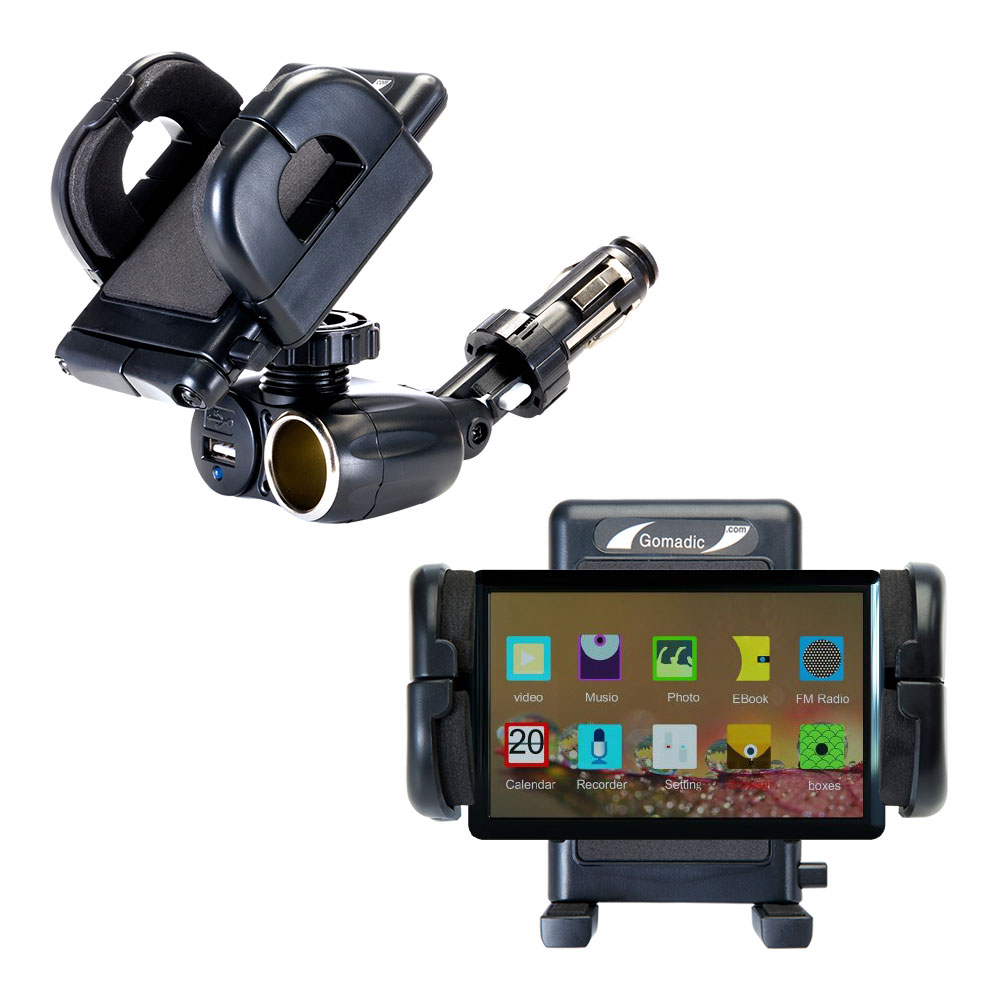 Cigarette Lighter Car Auto Holder Mount compatible with the Pyrus Electronics Sigo