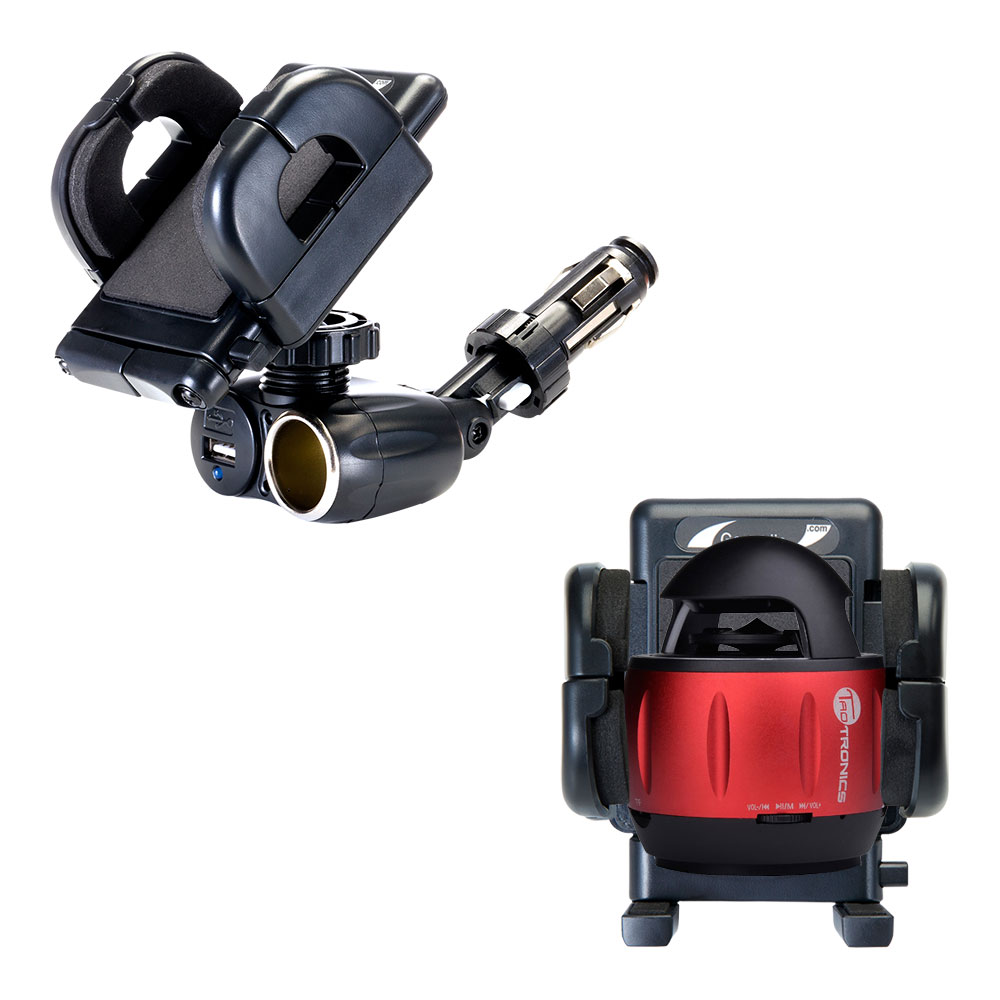 Cigarette Lighter Car Auto Holder Mount compatible with the TaoTronics TT-SK01