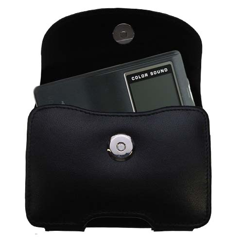 Black Leather Case for Cowon iAudio X5