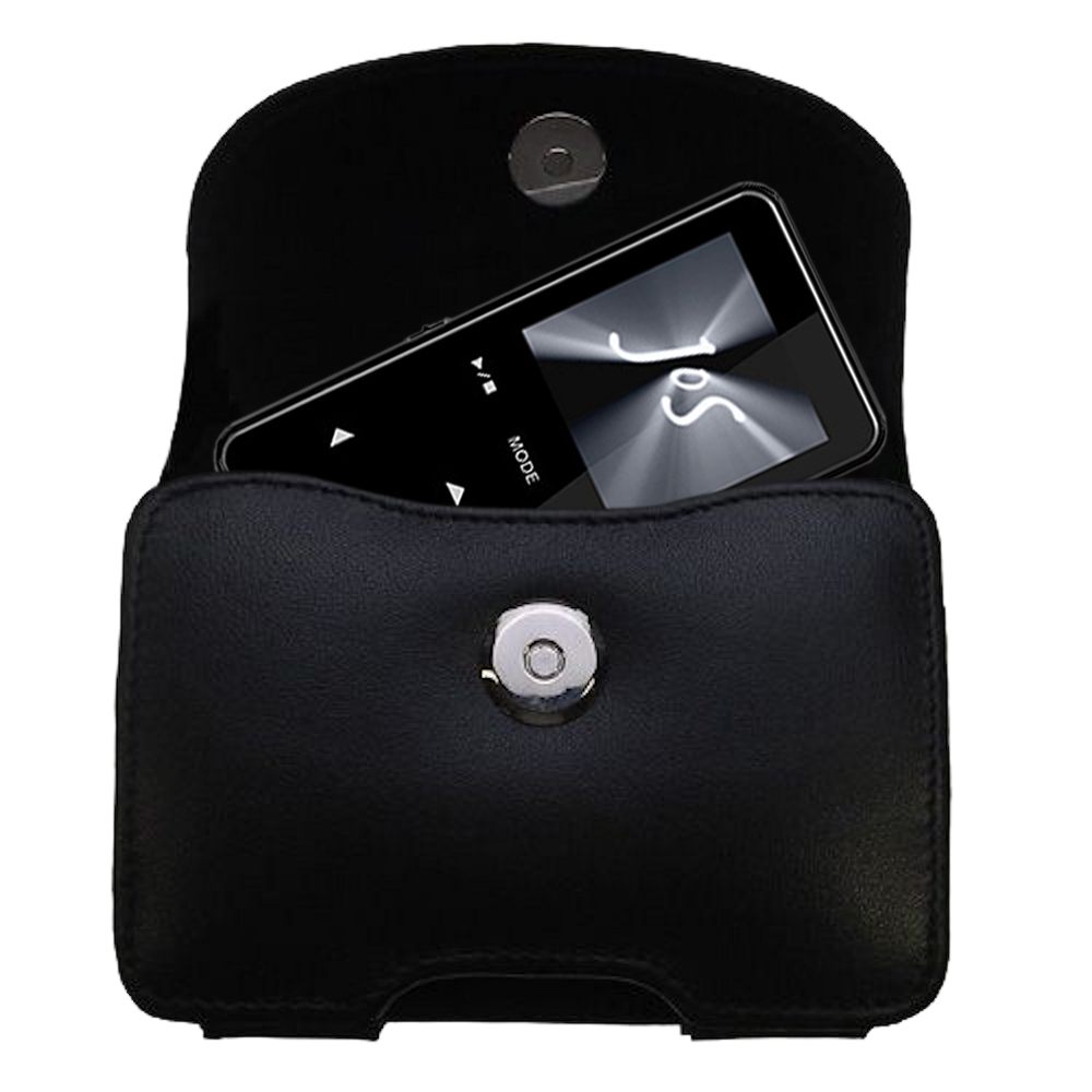 Black Leather Case for Jens of Sweden MP500