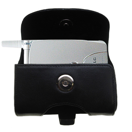 Black Leather Case for LG G4010