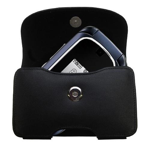 Black Leather Case for LG VX8360