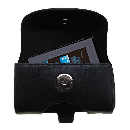 Black Leather Case for RCA SL5004 SL5008 SL5016 LYRA Slider