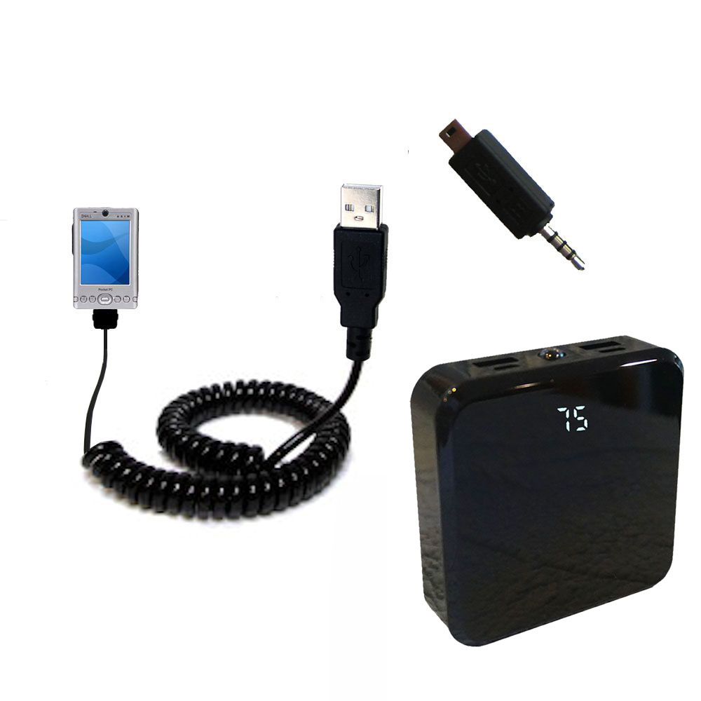 Rechargeable Pack Charger compatible with the Dell Axim x3i