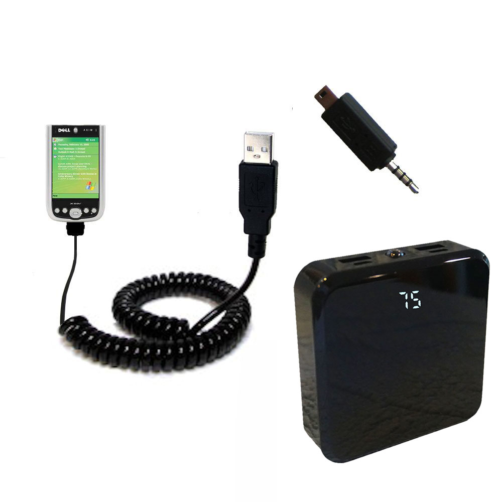 Rechargeable Pack Charger compatible with the Dell Axim X50 X50v