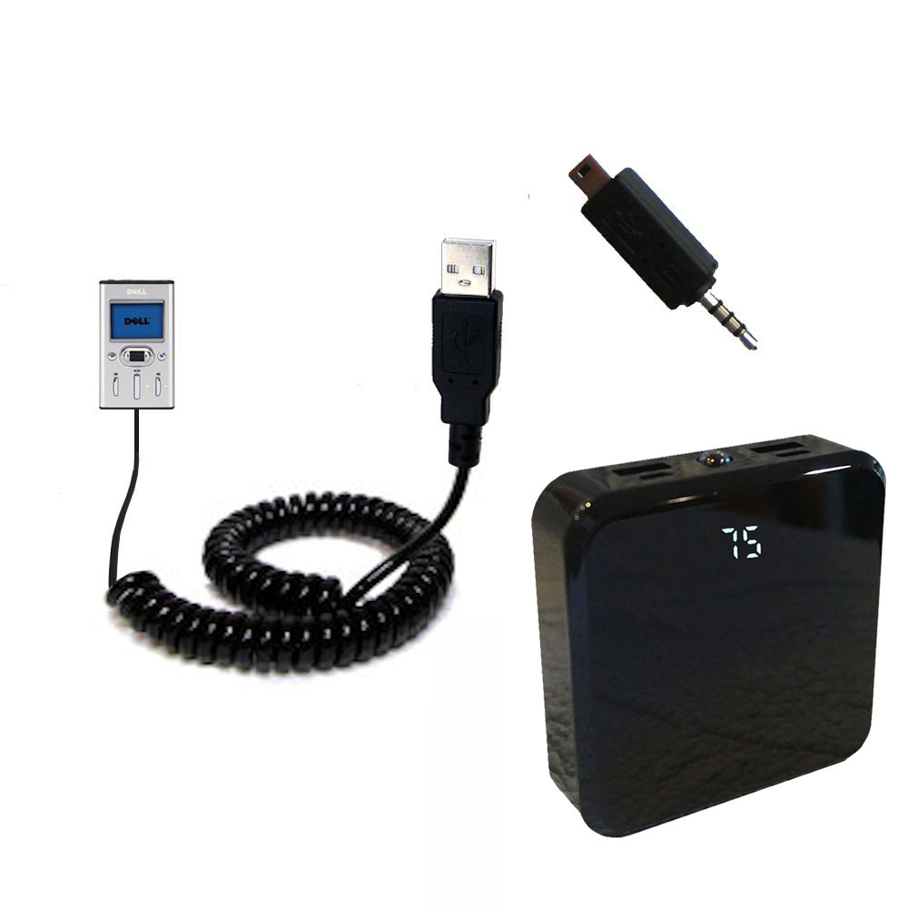 Rechargeable Pack Charger compatible with the Dell Pocket DJ 15GB