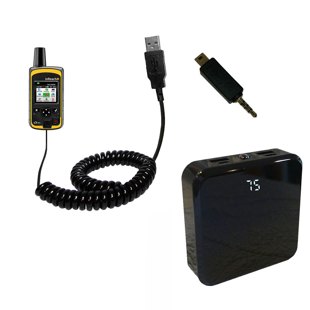 Rechargeable Pack Charger compatible with the Garmin inReach SE+