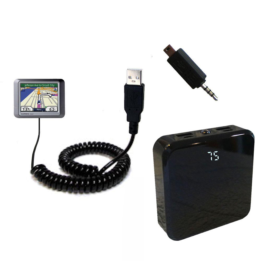 Rechargeable Pack Charger compatible with the Garmin Nuvi 275T