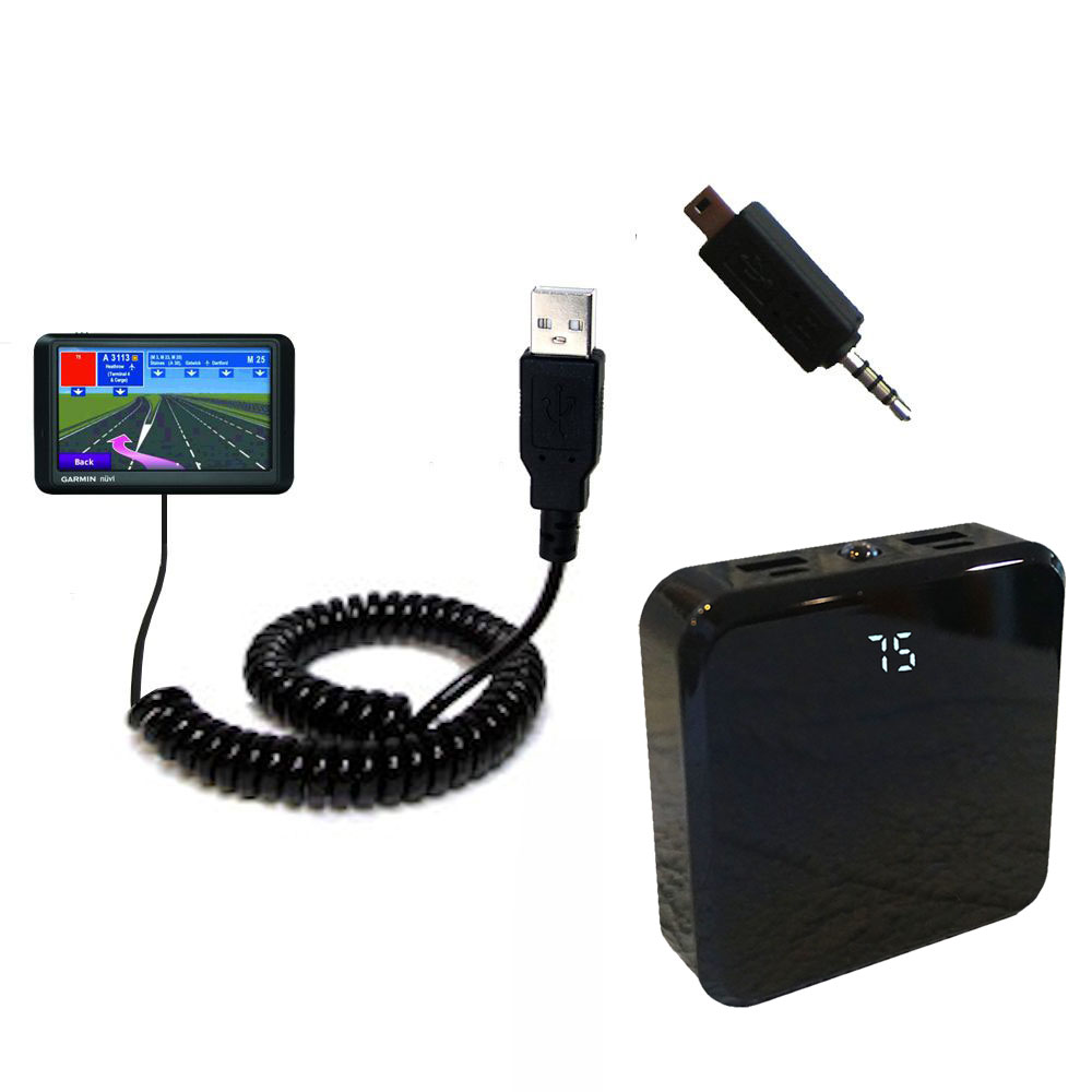 Rechargeable Pack Charger compatible with the Garmin nuvi 765